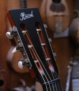 Brooks headstock