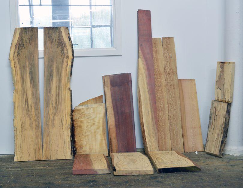 English Wood for Guitar Making