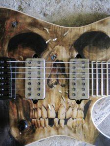 Daemoness Art Skull