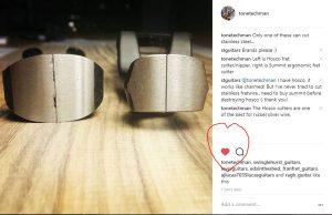 Red Heart Instagram