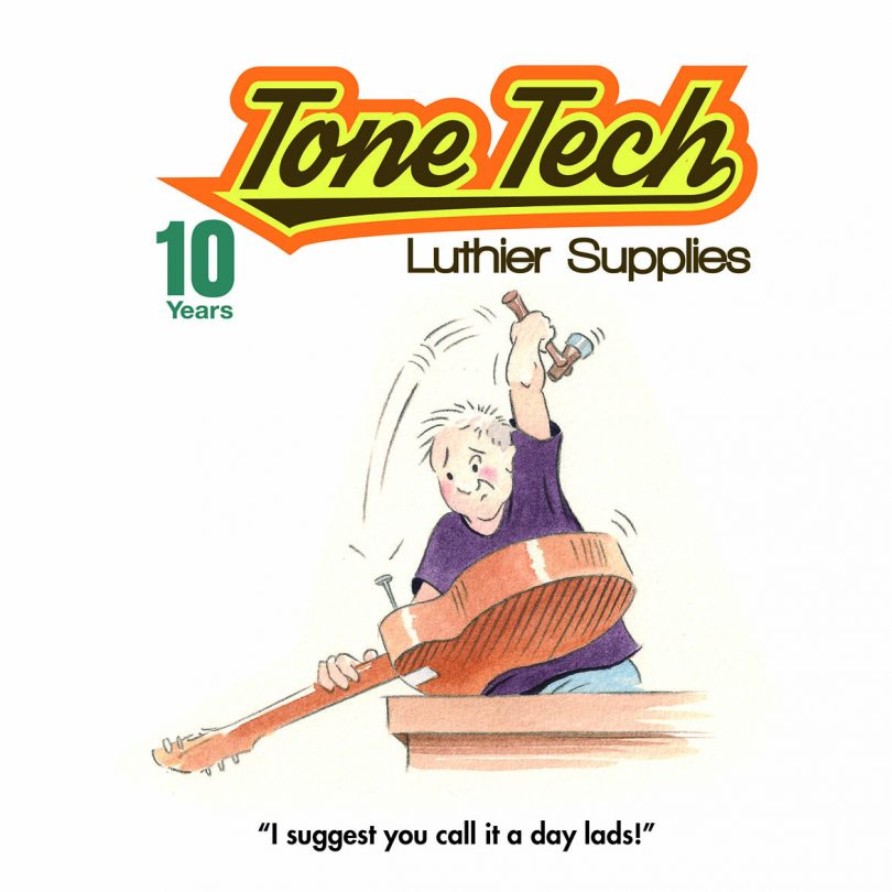 Tonetech 10 Year Book Cover