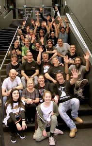 EGB Members at the 2017 Milan Guitar Show