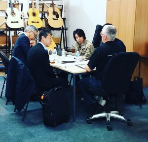 Meeting With Gotoh and Hosco