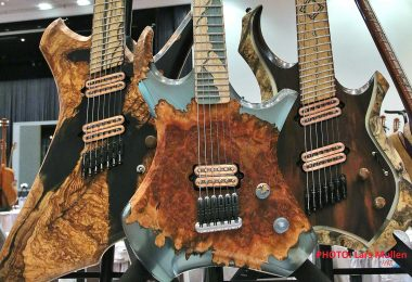 Stonewolf Guitars at the Holy Grail Show