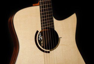 Macassar Guitar front view