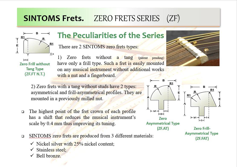 Zero Frets Detail