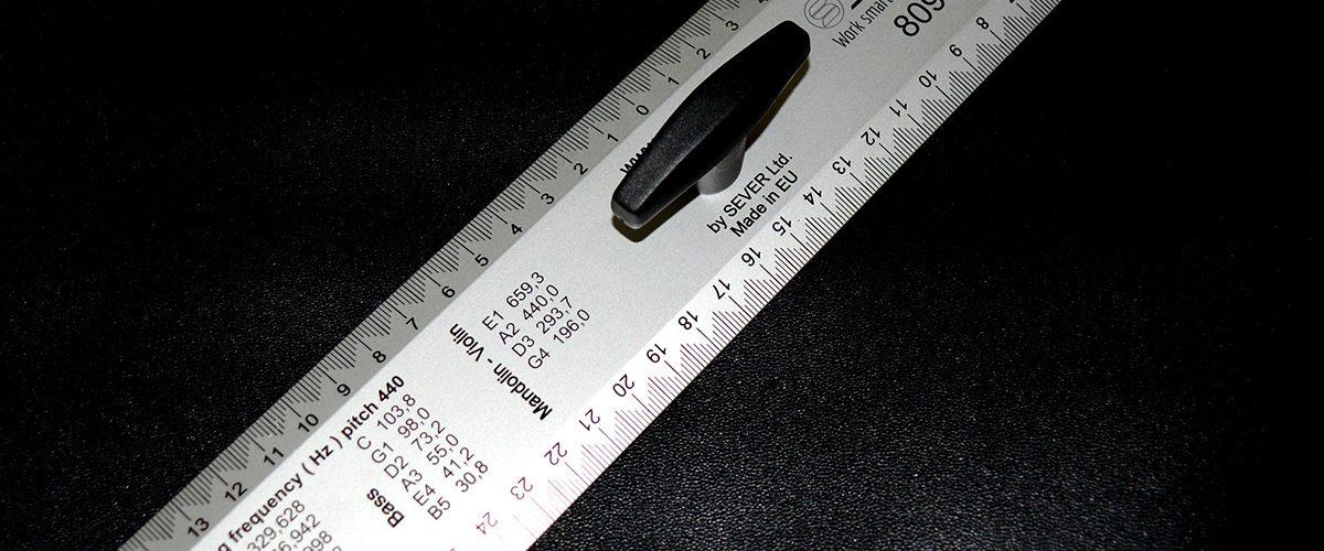 Sever 30cm Luthier Ruler